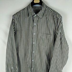 MENS - Tasso Elba Button Down Shirt 100% Cotton